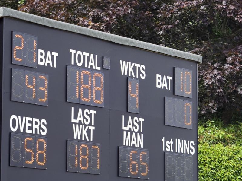 cricket scoring work