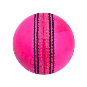 pink leather ball
