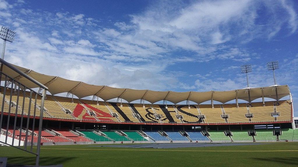 Greenfield International Stadium in Trivandrum, India