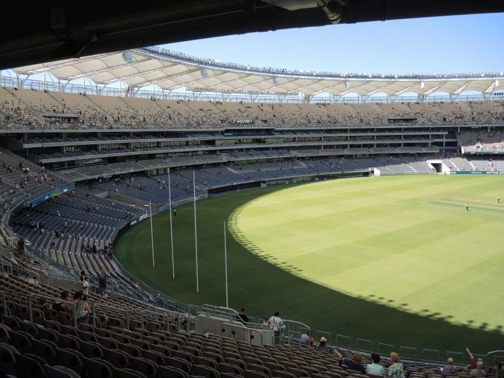 Optus Stadium in Perth, Australia