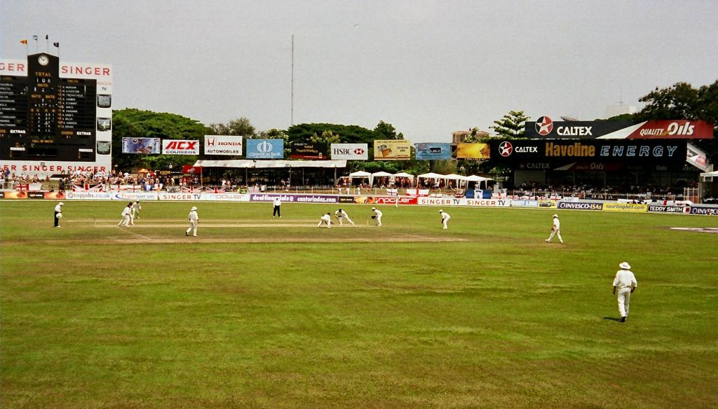 SCC Cricket Ground in Colombo