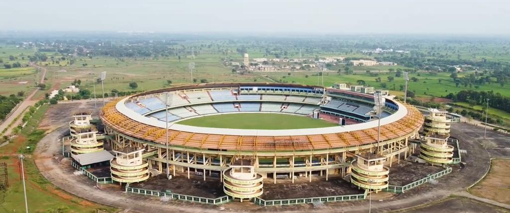 Shaheed Veer Narayan International Cricket Stadium in Raipur