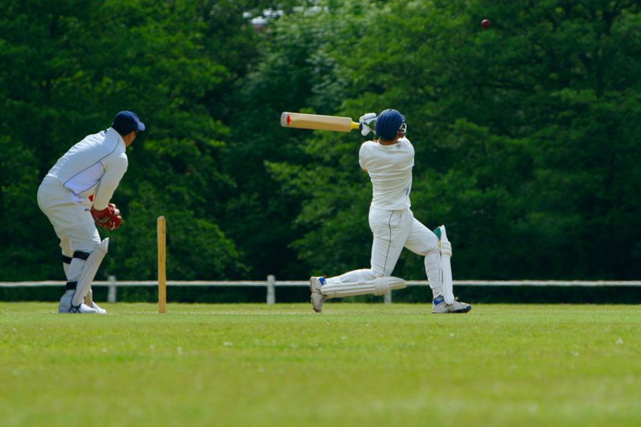 cricket batting technique