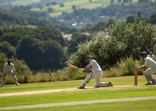 taking guard cricket
