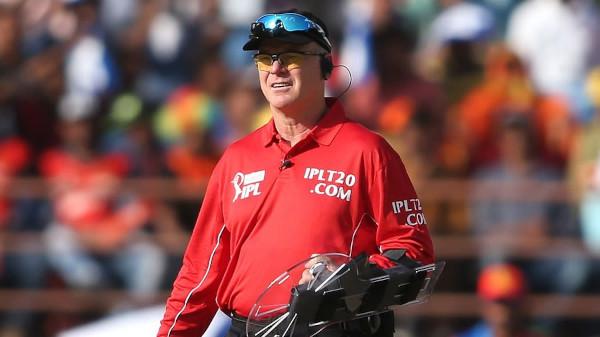 Cricket Umpire Shield on The Arm