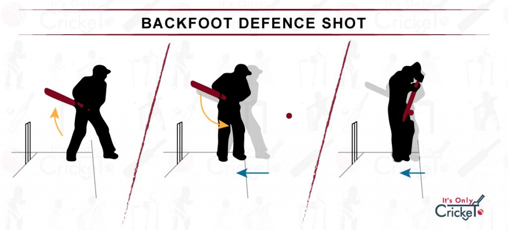 How to Play Backfoot Defence Cricket Shot