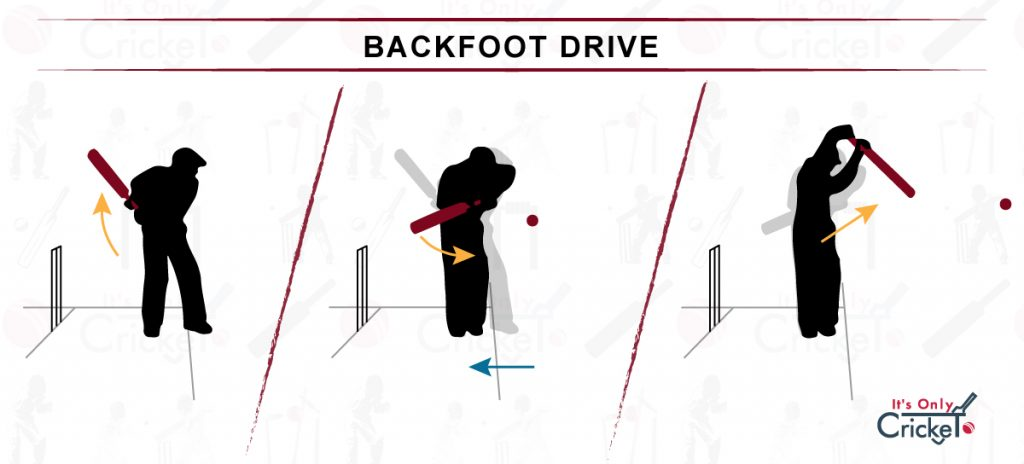 How to Play Backfoot Drive Cricket Shot