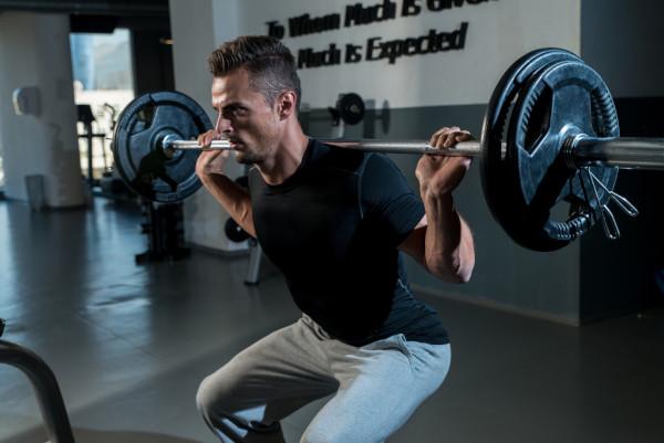 squats strength drills