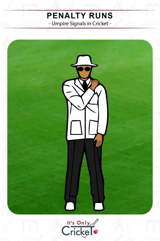 Cricket Umpire Signal Penalty Runs