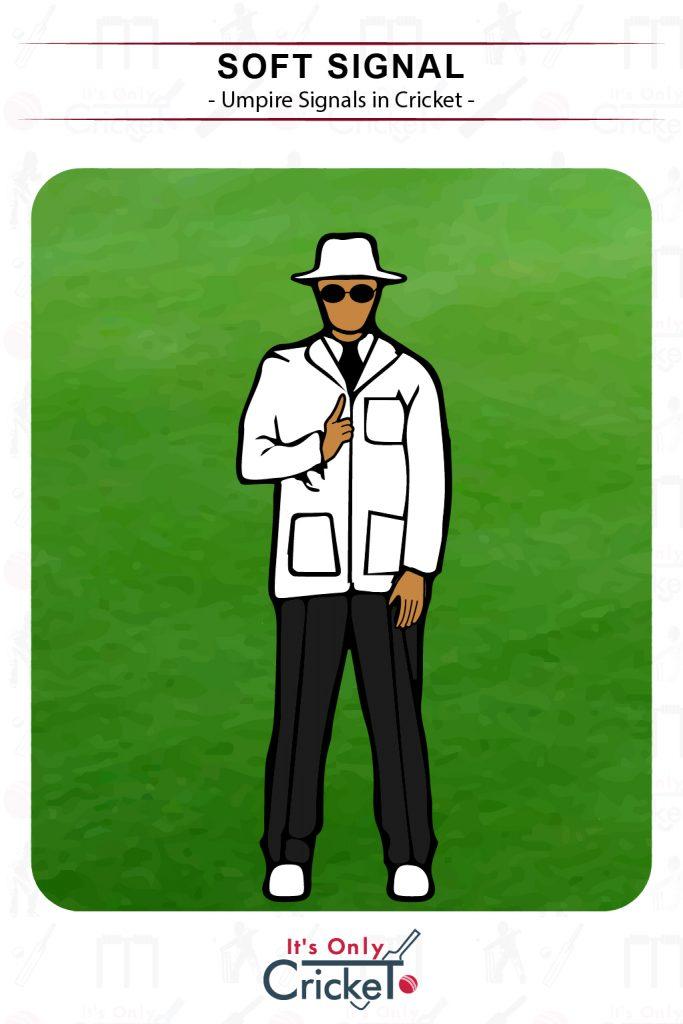 Cricket Umpire Signal Soft Signal